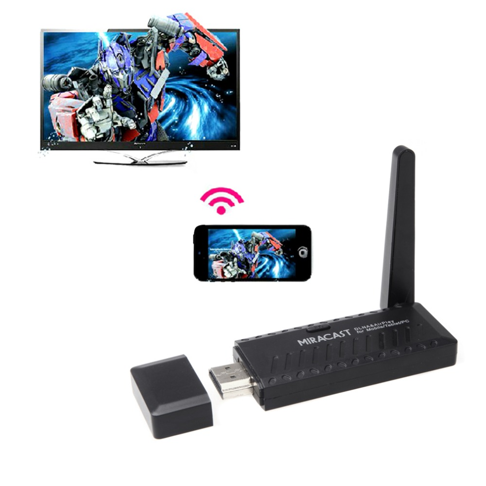 Top Quality Miracast Wifi Display Dongle Receiver 1080P HDMI Wireless IPUSH AirPlay DLNA Hot<br><br>Aliexpress