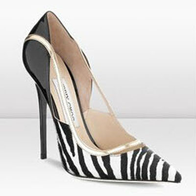 2015 Fashion New Gold Rimd Color Splice Women Brand Shoes Size 42 Zebra Print High Heels Pointed Toe Stiletto Sexy Pumps(China (Mainland))