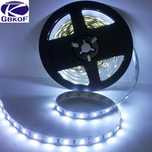 5m/roll IP20 Non Waterproof 5m 300 LED strip 5050 60LED/m 12V SMD Lamps flexible light cold white warm white red blue yellow RGB(China (Mainland))