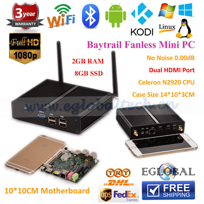 Adding Onboard LED Indicator Light Intel SOC/Bay Trail M 2G+8G SSD N2920/N2930 Support Linux Operating System 1080P HD playback(China (Mainland))