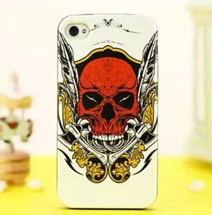 Cartoon painting case for Iphone 6 plus TPU 5.5inch back cover for Iphone 6 plus ultrathin light protective shell Free shipping(China (Mainland))