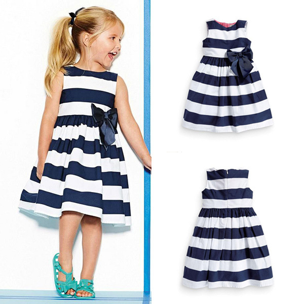 Cheap Fall Dresses For Girls Baby Kid Girls Sleeveless