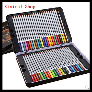 [Kinimal Shop] 48 color / water soluble iron / drawing / Art / color pencil box   water color pencils