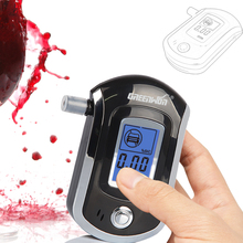 2014 NEW Hot selling Professional Police Digital Breath Alcohol Tester Breathalyzer AT6000 Free shipping Dropshipping(China (Mainland))