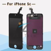 100PCS/LOT Free shipping For iPhone 5C LCD Assembly and Touch Screen Digitizer +Original Glass Complete + Free DHL+Fast Delivery(China (Mainland))