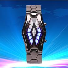 2015 relojes hombres marca de lujo LED relojes deporte militar reloj genuino reloj de cuarzo hombres relojes de pulsera relogio masculino