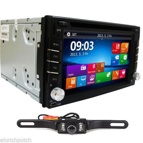 "Win 8 In-Dash 6.2"" HD double 2 din GPS Navigation Car Stereo DVD CD mp3 Player 2din Car Radio Audio+Bluetooth+iPod+Rear Camera(China (Mainland))"