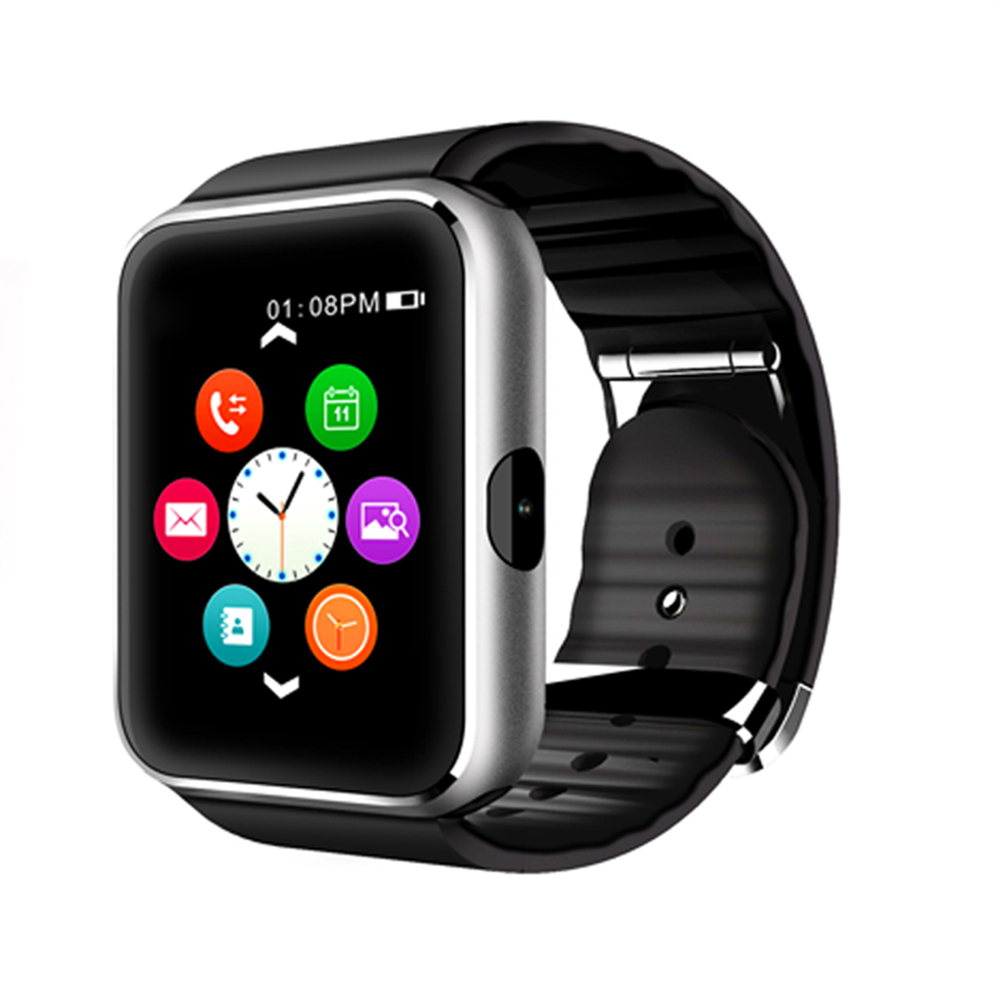 """K68 Bluetooth Smart Watch 1.54"""" MTK2502A 128M+32Mb 1.3MP Camera Heart Rate Pedometer Mic Call Video Music Player for IOS Android(China (Mainland))"""