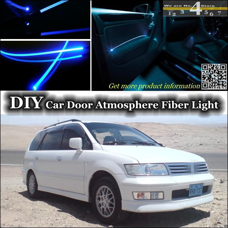 Mitsubishi Space Wagon Blue 4-LED Xenon Side Light Beam Bulbs Pair Upgrade