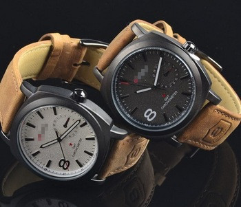 2015 matte leather high end sports watches outdoor leisure