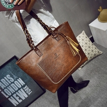 Buy 2017 Large Capacity Women Bags Shoulder Tote Bags bolsos New Women Messenger Bags Tassel Famous Designers Leather Handbags for $16.81 in AliExpress store