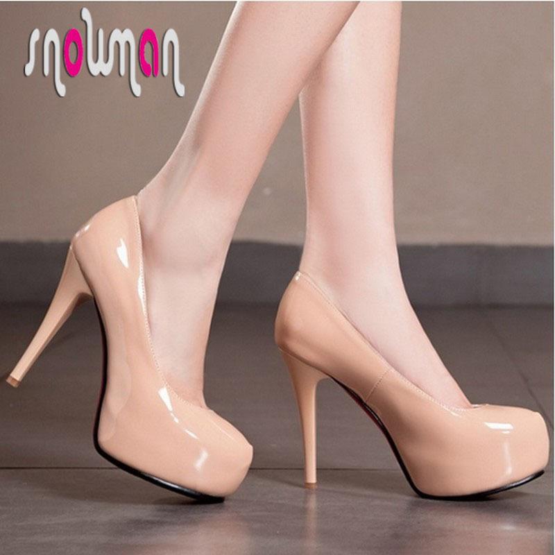 fashion patent pu womenn ol pumps shoes sexy platform pumps red botttom shoes wedding pumps thin hgih heels platform shoes
