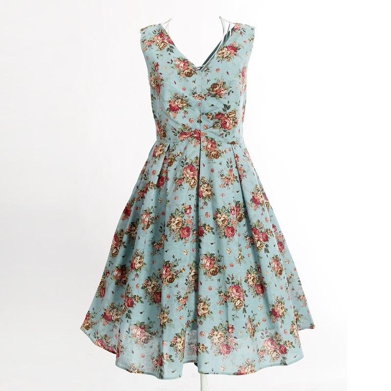 Popular Cute Vintage Inspired Dresses-Buy Cheap Cute Vintage ...