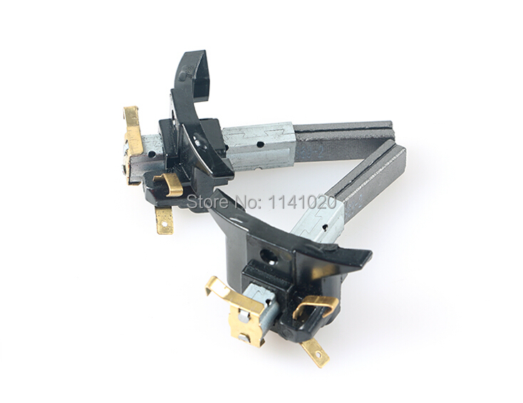 2pcs Vacuum cleaner accessories/Parts Motor Carbon Brush for Philips Midea Haier Sanyo 6.5 x 10x 32mm(China (Mainland))