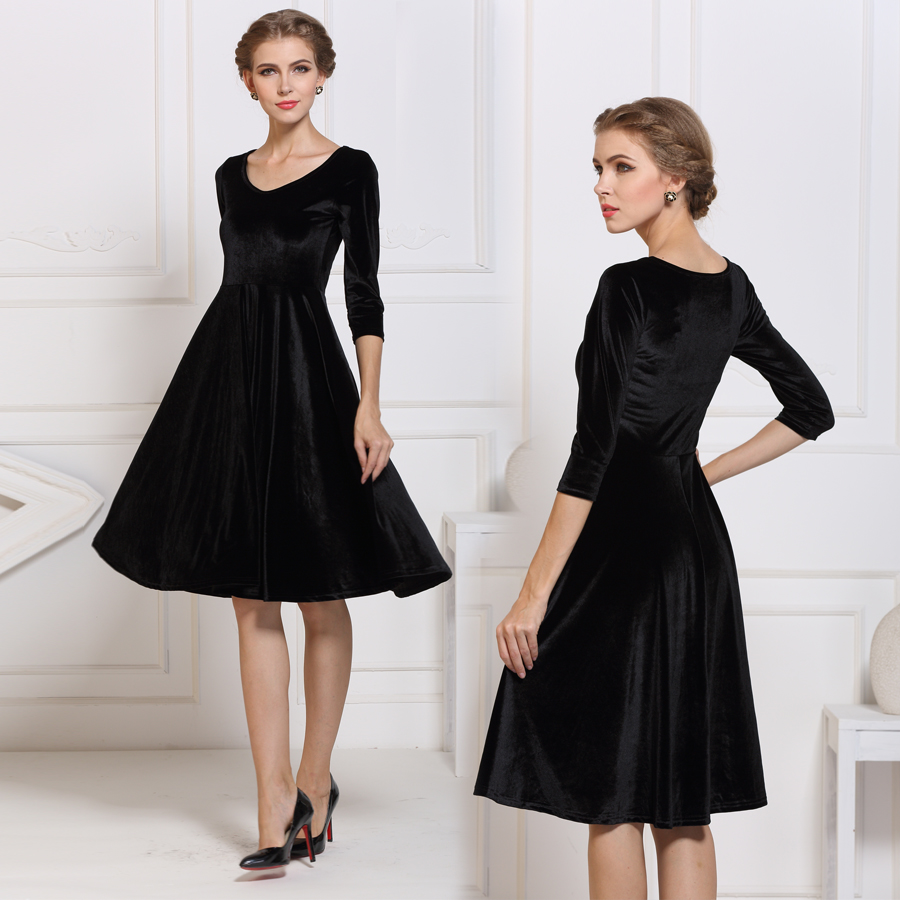 Elegant Plus Size Mother Bride Dresses Cap Sleeves Black Lace Evening ...