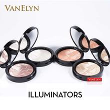 2016 1PC Brand Illuminators Bronzers & Highlighter Powder 9g So Hollywood 4Hues Makeup Maquillage Highlighter ILLUMINATORS FC002(China (Mainland))
