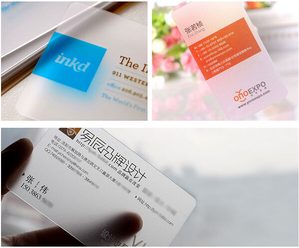 500pcs/lot Directly Factory Production Transparent PVC Customized Business Card/ VIP Membership Card printing Free Design<br><br>Aliexpress