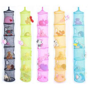 Toy storage broadhurst multi-layer ps hanging bag storage bag (4 color can choose)