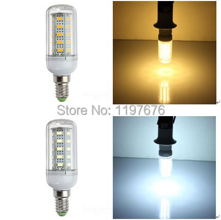 Wholesale LED Lighting Lamp 12W LED Bulb Lamp AC220V 36 SMD5730 LED Corn Bulb with cover high Lumens Warm White/Cold White(China (Mainland))
