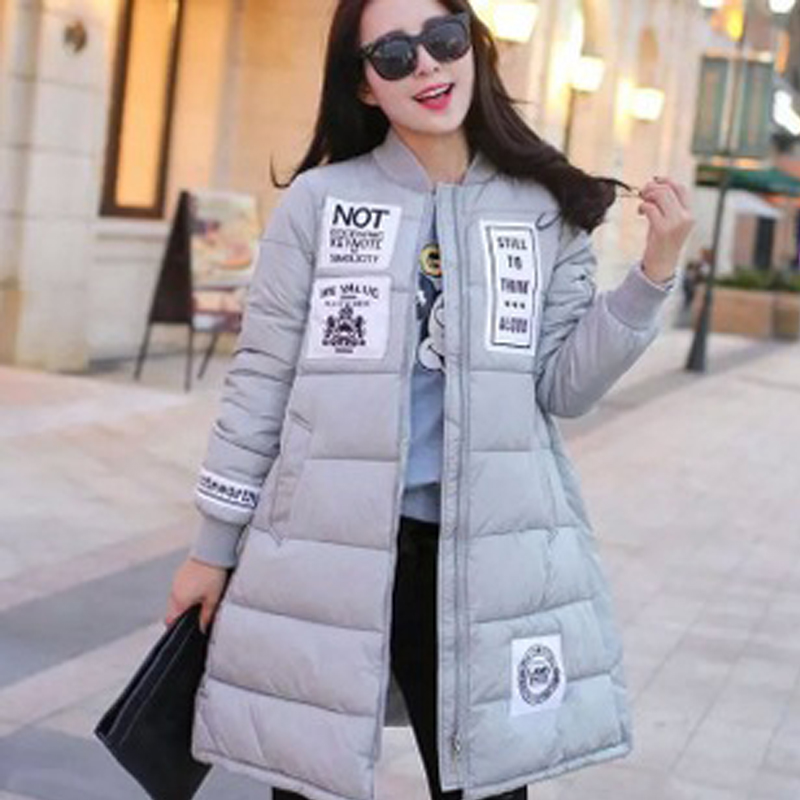 Women cotton clothing winter new style patchwork midum long style female parkas loose large size keep warm thick women coatОдежда и ак�е��уары<br><br><br>Aliexpress