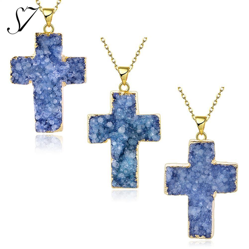 N011-A Natural Stone pendant necklace women dress necklaces