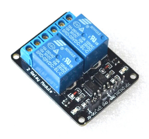 Henglifu 5PCS One 1 Channel Isolated 5V Relay Module