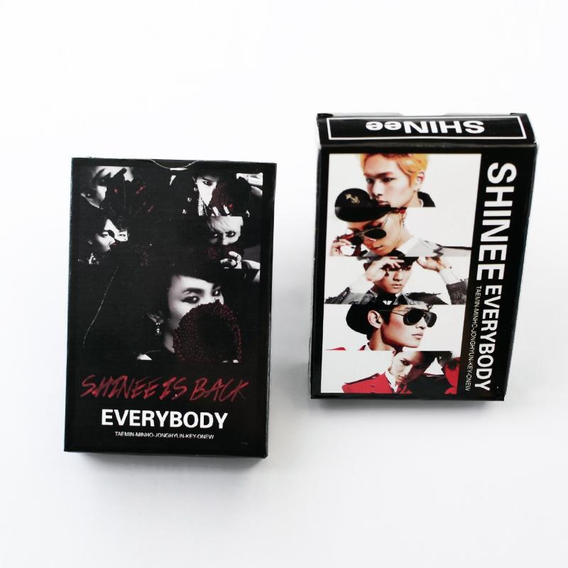 Игральные карты Kpop shinee 1box korean shinee the 2nd concert album shinee world ii in seoul 44p lyric book release date 2014 4 2 kpop