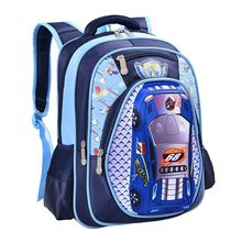 Orthopedics schoolbags 3D car children school bags high quality  Cartoon backpack large capacity Travel Backpack for boys girls