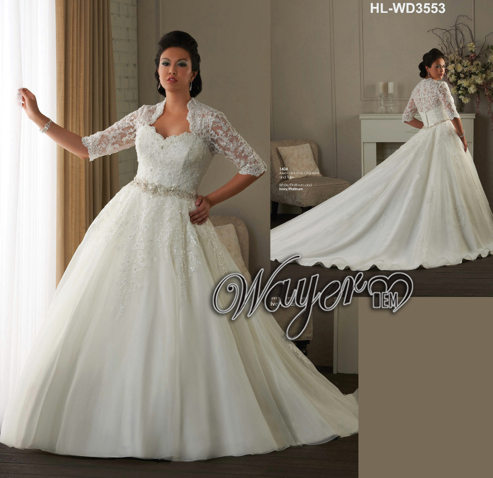 Buy gorgeous full lace appliqued beaded for Full size wedding dresses