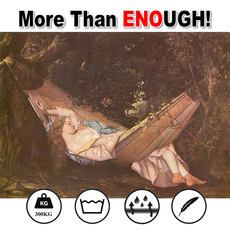 Double Comfortable Parachute Cloth Hammock 300KG Super Load Bearing<br><br>Aliexpress