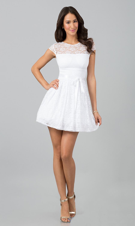 Little White Dresses Short White Party Dresses LWD