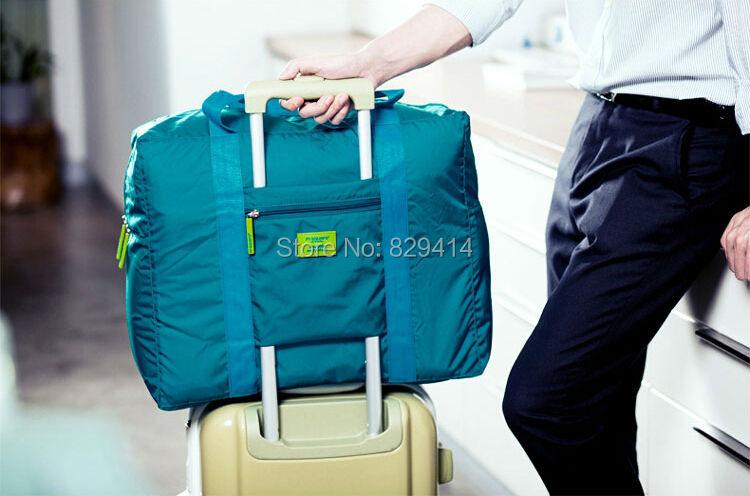 Large Capacity waterproof travel storage organizers Nylon three colors Chosen Portable Travel accessories Bags(China (Mainland))