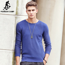Pioneer Camp 2017 New sweater men Autumn Fashion Brand Casual Sweater Slim Fit Knitting Men Sweaters And Male Pullover 611206(China (Mainland))