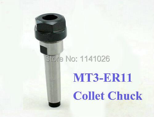 1PCS MT3 ER11 collet Morse taper Toolholder MT3-ER11 collet chuck Holder(China (Mainland))