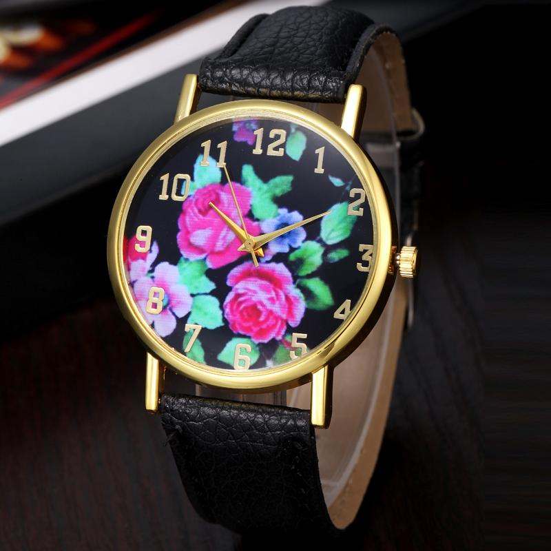 lucky brand mens watches reviews online shopping lucky brand super quality vogue women s rose floral printed analog quartz wrist watch watches men luxury brand relojes mujer 20142016 lucky