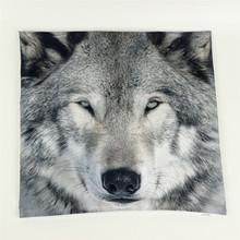 Wolf 3D Print Throw Pillowcase Cushion Cover