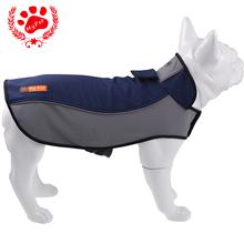 My pet собак пальто бренд Осенняя / Зимная удобная собака одежду   и теплая одежда для собак на дворе пальто  с отражающей полосой водонепроницаемая зимняя одежда для собак куртка Плюс размер товары для животных XXXL (China (Mainland))