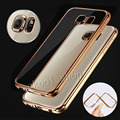 For Samsung Galaxy S6 S6 edge S6 edge Plus Royal Luxury style Plating Gilded TPU Phone
