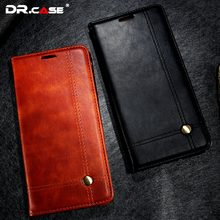 DR.CASE Luxury Leather Cover For iPhone 6 7 6S Case Retro Luxury Wallet Coque Cases For iPhone 7 6 6S Plus Anti-Knock Bag Fundas(China (Mainland))