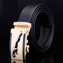 Buy TG 2016 brand new cowskin belts men luxury waistband automatic buckle First layer genuine leather men belt cintos ceinture for $13.49 in AliExpress store