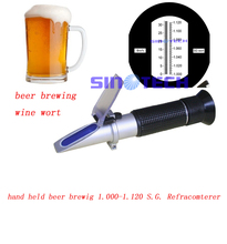 Buy Free hand held wine wort beer brewing 1.000-1.130 S.G. brix 0-32% refractometer RSG-100ATC for $21.99 in AliExpress store