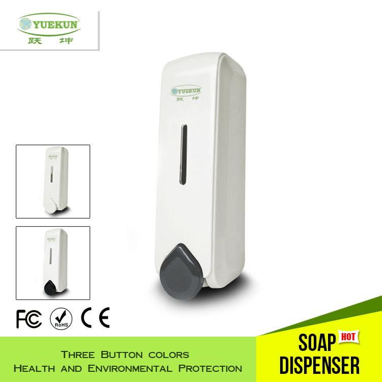 YK1081Hand soap Dispenser,Foam/Liquid Soap Dispenser,Hotel/Toilet/Bathroom Soap Dispenser,Wall mounted ABS plastic soap dispense(China (Mainland))