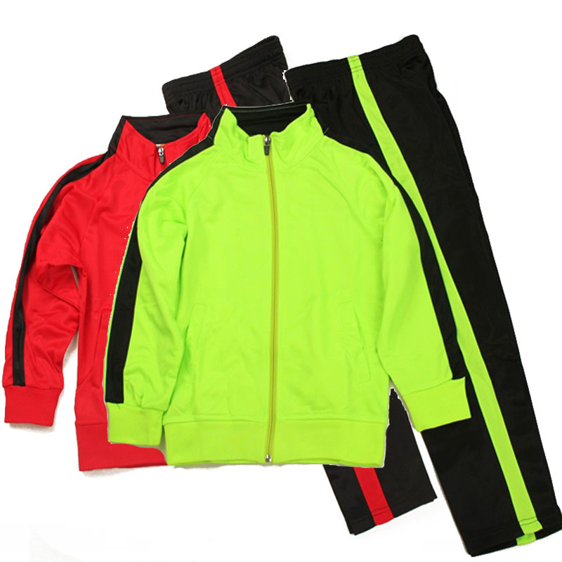 2015/16 Kids Soccer Training Suit Children Long Sleeve Running Jacket Kids Football Jerseys Tracksuit Uniform Coat Free Shipping<br><br>Aliexpress