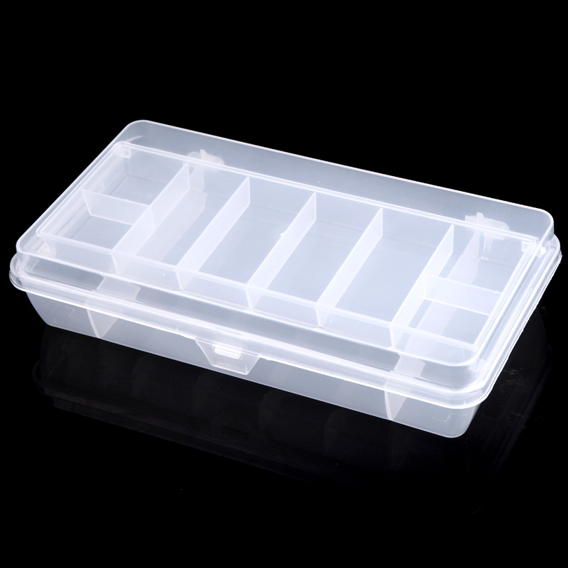 NEW Fishing Tackle Box Fly Fishing Storage Case Double Layer Spinner Bait Minnow Popper Boxs(China (Mainland))