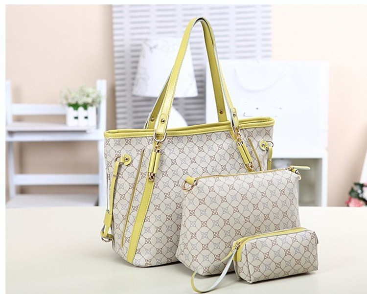 2014 Spring Autumn Brand Women Casual Handbags 3 Bags In One