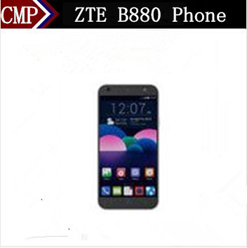 Original ZTE B880 Cell Phone 5 Inch IPS 1280X720 Android 5.0 Lollipop MTK6735 Quad Core 1GB RAM 8GB ROM 13.0MP(China (Mainland))