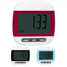 2D Big LCD display Digital Step Pedometer Run Distance Calorie Walk Counter Pocket Clip(China (Mainland))