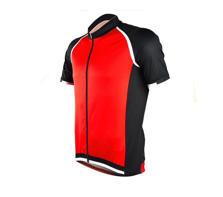 2016 men's summer downhill bike clothing ropa maillot ciclismo breathable red cycling short sleeve jersey free shipping(China (Mainland))