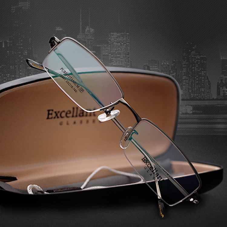 Glasses Frame Discoloration : Excellant ultra light titanium frame eyeglasses frame ...