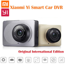 Original International Edition Xiaomi YI Smart Car DVR WiFi Xiaoyi Dash Camera 165 Degree ADAS 1080P 60fps 2.7Inch Free Shipping(China (Mainland))